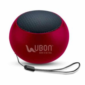 Ubon SP-6810 Minitone 5 W Bluetooth Speaker Red