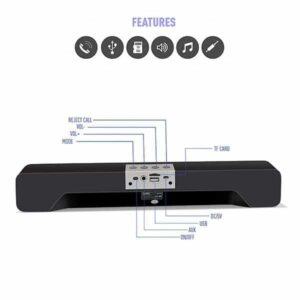 Ubon SP-70 Cool Bass Bluetooth Soundbar