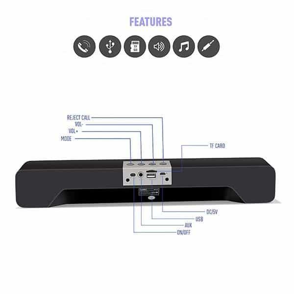 Ubon SP-70 Cool Bass Bluetooth Soundbar