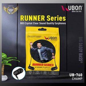 Ubon UB-760 Champ 3.5mm in-Ear Wired Earphones