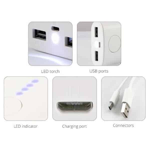 Zebronics 15000 mAh Power Bank