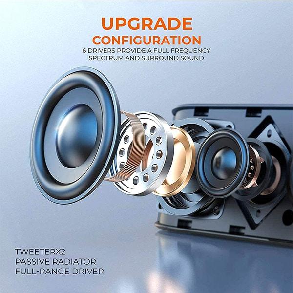 UBON Wireless 5.0 Soundbar SP-80 Beatbar