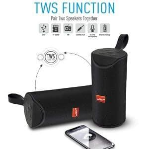 Ubon SP-39 5W Wireless Speaker Portable Bluetooth Rechargeable Travel Speaker