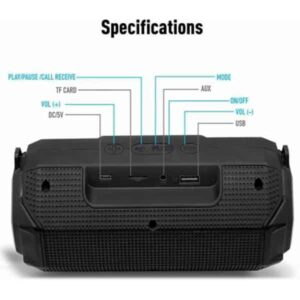 Ubon SP-46 Bomb Beats Bluetooth Speaker