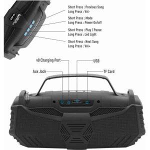 Ubon SP-6820 Octane Wireless speaker with LED lights