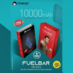 VingaJoy Fuelbar Powerdaddy 10000mAh Dual USB Power Bank