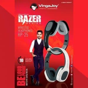 VingaJoy HP-25 RAZER Series Wireless Headphone