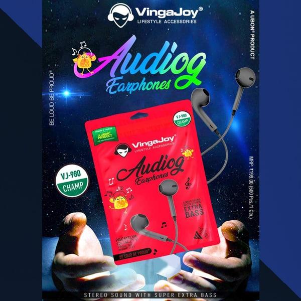 VingaJoy VJ-980 Champ Audiog Earphones
