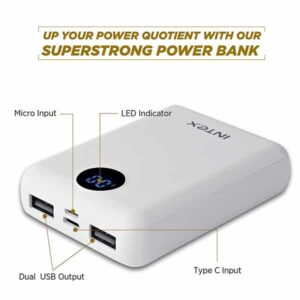 INTEX 10000mAH Li-Polymer Power Bank