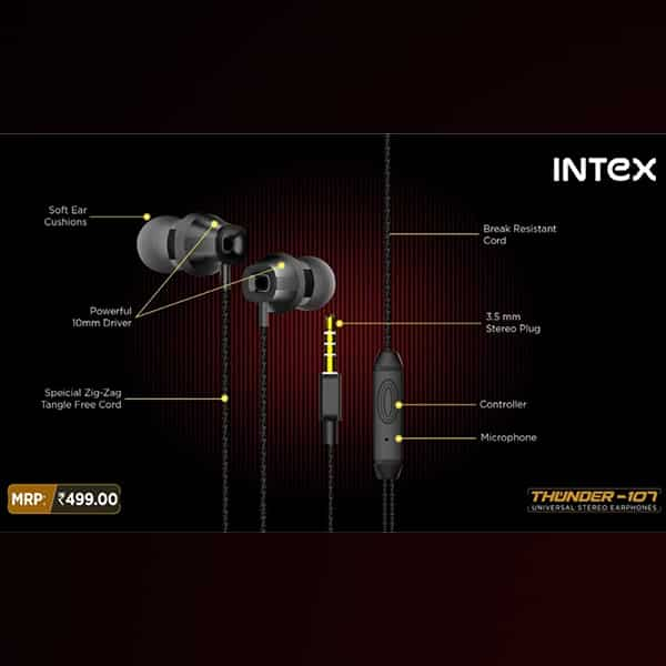 Intex Thunder 107 Wired Headset