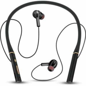 Ubon CL-5300 Wireless Neckband Bluetooth 20 Hours Playtime Bluetooth Headset (Black, In the Ear)