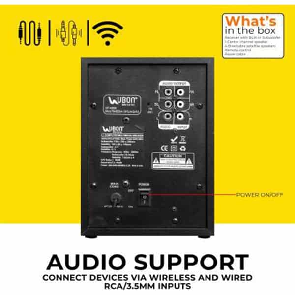 Ubon SP-4300 Big Daddy Bass Home Theatre 4.1 with Disco Light