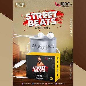 UBON UB-780 Champ In Ear Wired With Mic Earphones