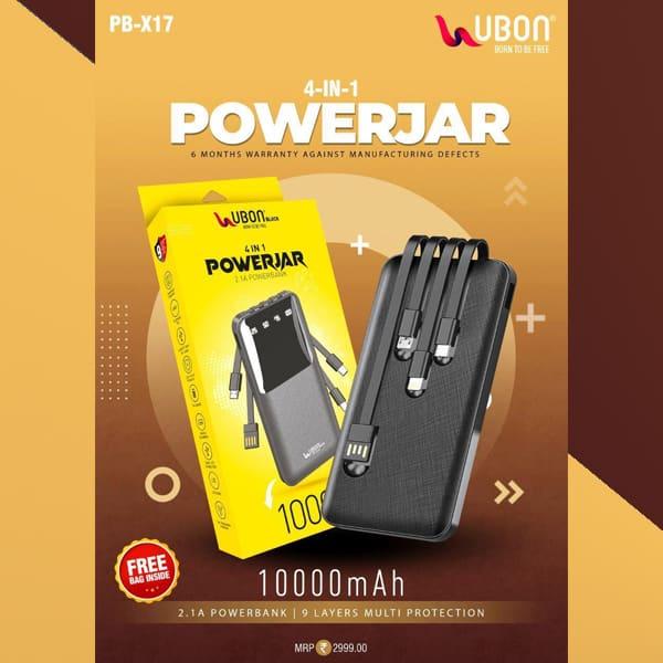 UBON PB-X17 10000 mAH Li-Polymer Power Bank