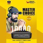 UBON PB-X88 10000 mAh Power Bank with USB Port