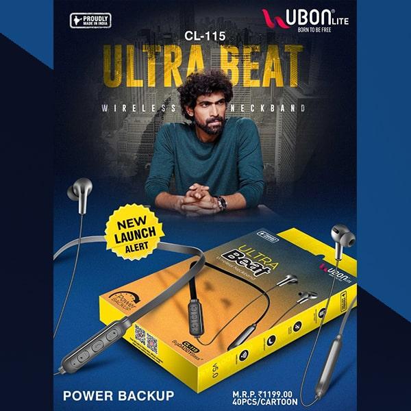 Ubon CL-115 Ultra Beat Wireless Neckband