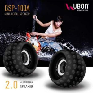 Ubon GSP-100A Mini multimedia computer speaker 10 W Mobile/Tablet Speaker