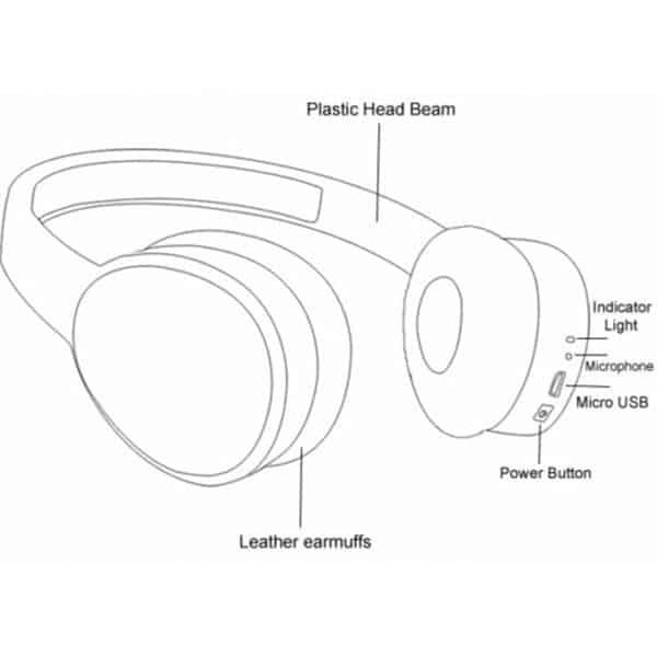 Ubon HP-60 Bluetooth Headset
