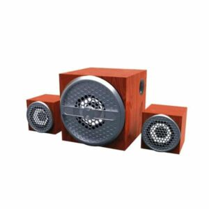 Ubon HT-2030 2.1 Wooden Bluetooth Speaker