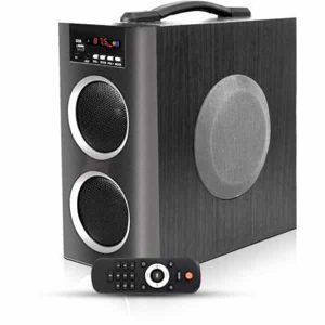 Ubon HT-2060 20 W Bluetooth Tower Speaker (Black, 2.1 Channel)