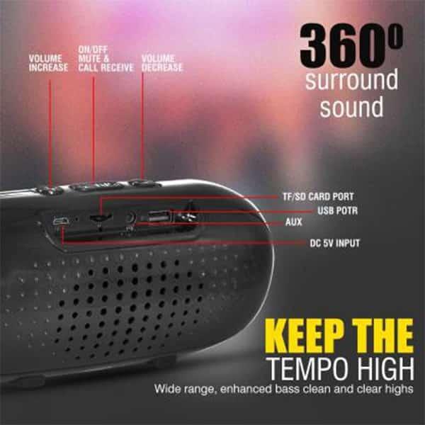 Ubon SP-50 SOLIDBASS Wireless Speaker