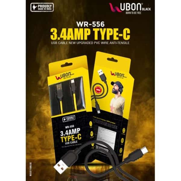 Ubon WR-556 3.4Amp Type C Cable
