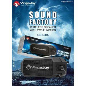 Vingajoy GBT-50A Sound Factory Wireless Speaker