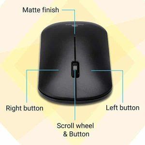 Zebronics Zeb-Dazzle Wireless Optical Gaming Mouse (2.4GHz Wireless)