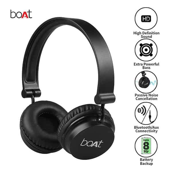 boAt Rockerz 410 Bluetooth Headphone Super Extra Bass
