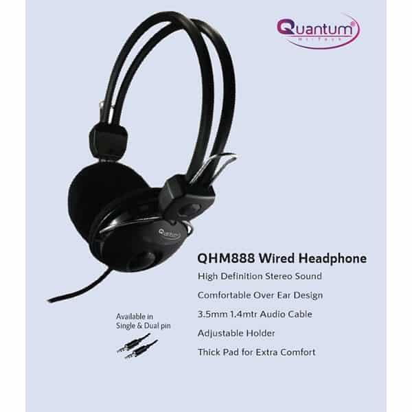 Quantum QHM 888 Wired Headset