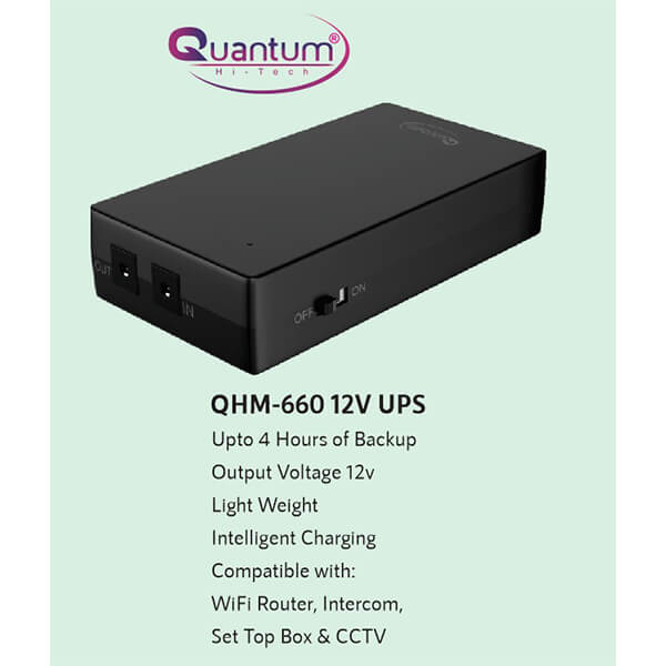 Quantum QHM-660 Power Backup for Router