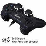 Quantum QHM 7468-2V USB Gamepad (Black)