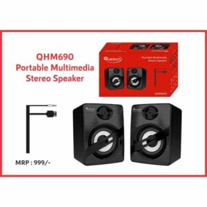 Quantum QHM690 Portable 6 W Laptop/Desktop Stereo Speaker
