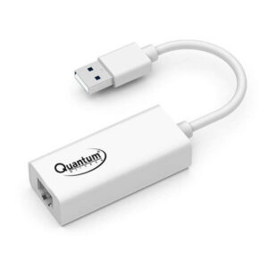 Quantum QHM8106 USB to RJ45 Ethernet LAN Adapter (White)