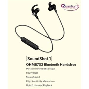 Quantum QHM8702 Bluetooth Headset (Black)