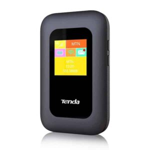Tenda 4G185 3G/4G LTE Advanced 150Mbps Pocket Mobile Wi-Fi Hotspot Device