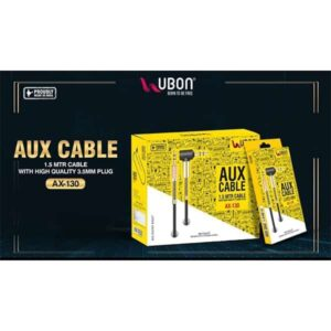 Ubon AX-130 Aux Cable 1.5 MTR Cable