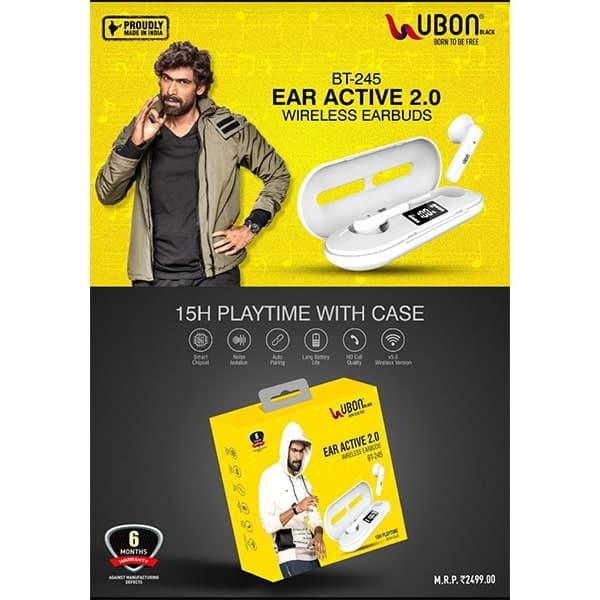 Ubon BT-245 EAR ACTIVE 2.0 Wireless Earbuds