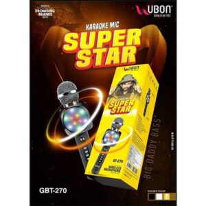 Ubon GBT-270 KARAOKE MIC SUPER STAR