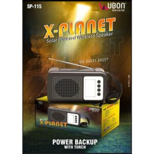 Ubon SP-115 X-PLANET Wireless Speaker with Torch