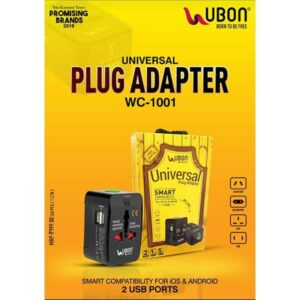 Ubon Universal Plug Adapter WC-1001 For iOS & Android