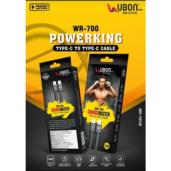 Ubon WR-700 PowerKing Type-C to Type-C Cable