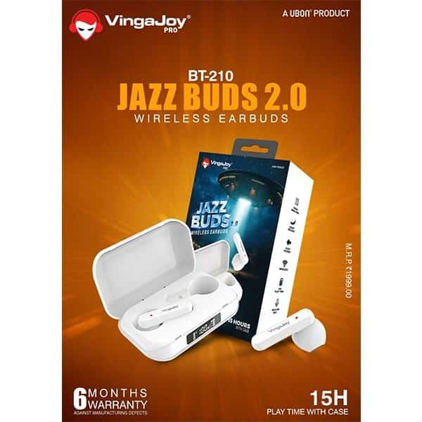 Vingajoy BT-210 JAZZ BUDS 2.0 Wireless Earbuds