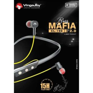 Vingajoy Bass Mafia CL-190 Bluetooth Neckband