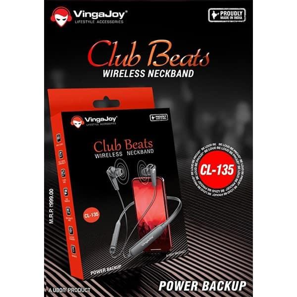 Vingajoy CL-135 Club Beats Wireless Neckband