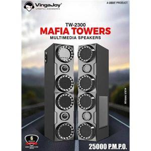 Vingajoy TW-2300 MAFIA TOWERS MULTIMEDIA SPEAKERS