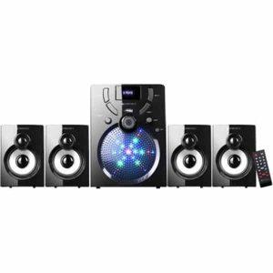 ZEBRONICS ZEB-UDAAN 4 BTRUF 60 W Bluetooth Home Theatre (Black, 4.1 Channel)