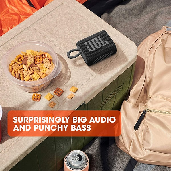 JBL GO3 Ultra Portable IP67 Water & Dustproof Bluetooth Speaker