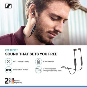Sennheiser CX 120BT Bluetooth Headset