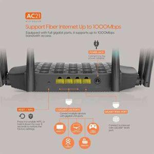Tenda AC21 AC2100 Wireless Smart Dual-Band Gigabit WIFI Router
